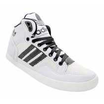 Tênis Sapato Calçado Adidas Extaball Cano Médio Branco