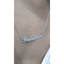 Justin Bieber - Colar Belieber