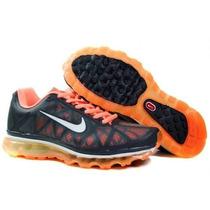 Tenis Nike Air Max 2011 Masculino 100% Original P. Entrega !
