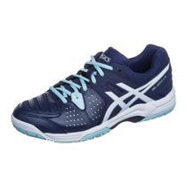 Tênis Asics Gel Dedicate 4 Azul/branco Tenis,squash, Futsal
