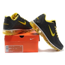 Nike Air Max 2011 Preto Com Amarelo 100% Original