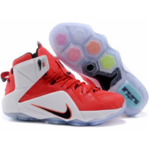 Tênis Nike Air Lebron James 12 Heart Of Lion, Pronta Entrega