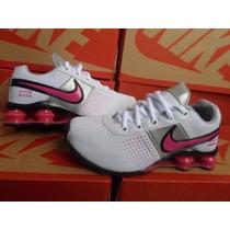Tênis Nike Shox Feminino 4 Molas Lindo E Confortável