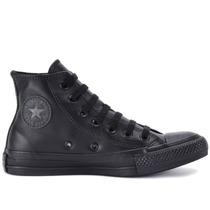Tênis Converse All Star Ct As Monochrome Leather Hi Preto Ct