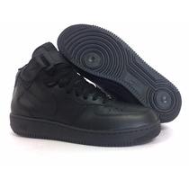 Tênis Nike Cano Médio Alto De Couro Air Force Masculino Novo