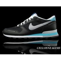 Tenis Nike Air 43 Venture Azul Marinho Anos 80 F Gratis