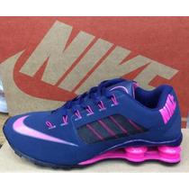Promoção Nike Shox Feminino R4 Importado Em Diversas Cores