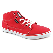 Dc Bristol Mid Têxtil Lona Das Mulheres Tênis Athletic Shoes