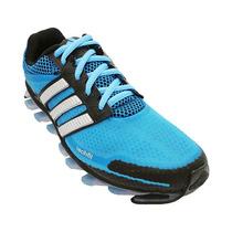 Tênis Adidas Springblade Azul Bebê E Preto Frete Gratis