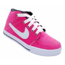 Sapato Criança Calçado Tênis Infantil Nike Suketo Cor Pink