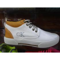 Sapatênis Calvin Klein Cano Alto Masculino Imperdível Compre