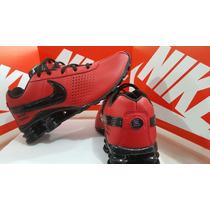 Tenis Nike Shox Junior 4 Molas Buti Mais Vendido Na Caixa