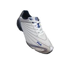 Tênis Masculino Fila Orbit 411602 Branco/azul -dicastros