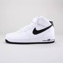 Tenis Nike Air Force 100% Couro Cano Alto Na Promoção