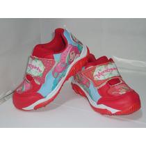 Tênis Moranguinho Vermelho Velcro Infantil Feminino - 377