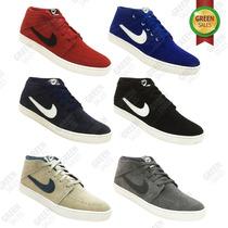 Botinha Nike Suketo Mid Leather Couro Nobook / Frete Gratis