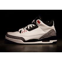 Tenis Nike Air Jordan 3 Retro Vintage Frete Gratis.