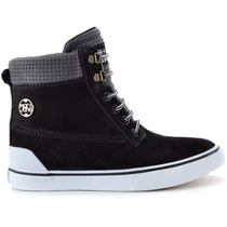 Tênis Mary Jane Venture High Sneaker Preto Mj-4206