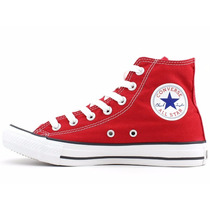 Tênis All Star Converse Ct As Core Hi Vermelho Original