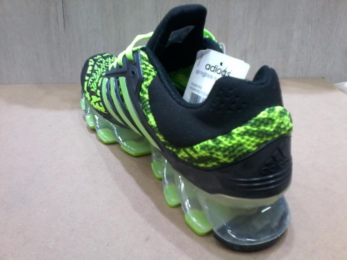 adidas springblade camuflado verde e preto