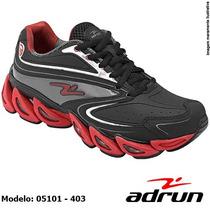 Tênis Corrida Caminhada Academia Running Adrun Várias Cores