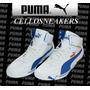 Tênis Puma 41 Speed Cat Mid 2.9 Branco Azul Frete Gratis