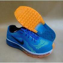 Nike Air Max Lançamento 2015 Azul Barato + Frete