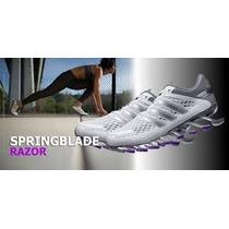 Adidas Springblade 2 Razor Feminino Roxo/branco 100%original