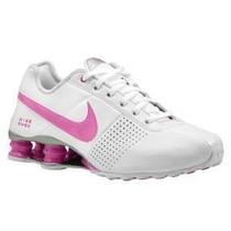 Nike Shox Feminino Rosa Original N 36 37 Novo