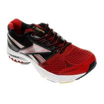 Tênis Reebok Dual Up Running - Vermelho Preto - Frete Grátis