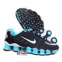 Tênis Nike Shox 12 Molas Junior Tlx 4 Original Frete Gratis