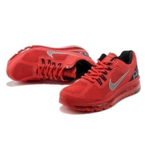 Tenis Nike Air Max 2013 Vermelho - 100% Original + Frete Gra