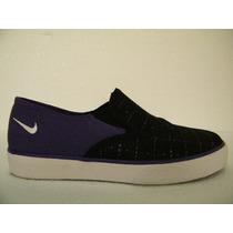 38 Nike Slip On - Tenis Iate - Elástico Lateral