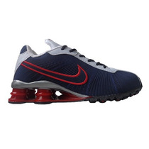 Nike Shox Turbo V Azul Marinho E Vermelho