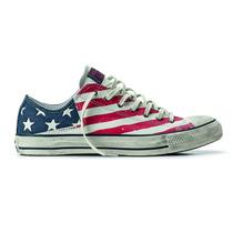 Tênis Converse All Star - American Flag - Couro Legítimo