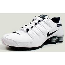 Tênis Nike Shox Nz Eu Original Couro Branco + Nota Fiscal