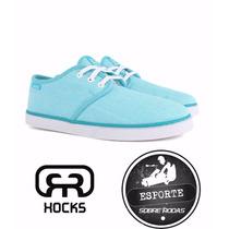 Tênis Hocks Del Mar Slim Turquesa - *esportesobrerodas*