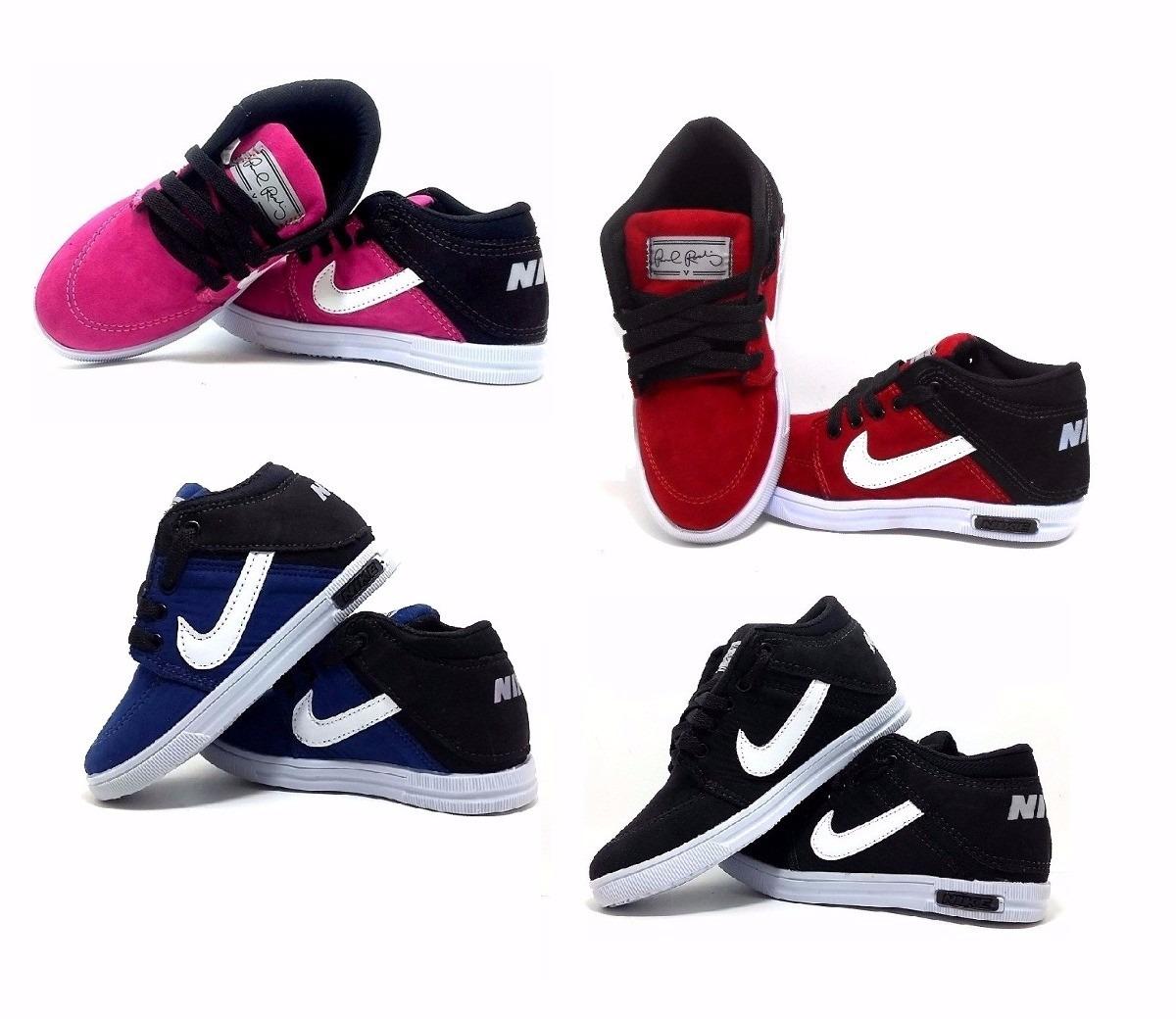 Tenis Nike Botinha Infantil Netshoes Style Guru Fashion Glitz
