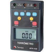 Terrometro Digital Cat Iv/400v Data Hold Minipa Mtr-1530