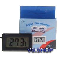 Termômetro Digital Lcd Aquário Freezer Chocadeiras Uso Geral