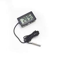 Termômetro Digital Lcd Sensor Externo Freezer, Aquário, Etc