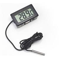 Termômetro Digital Lcd Para Em Aquário Freezer