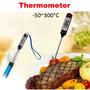 Termometro Culinário Tipo Espeto Para Uso Em Alimentos