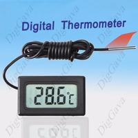 Termômetro Digital Lcd Uso Geral Com Sensor Externo