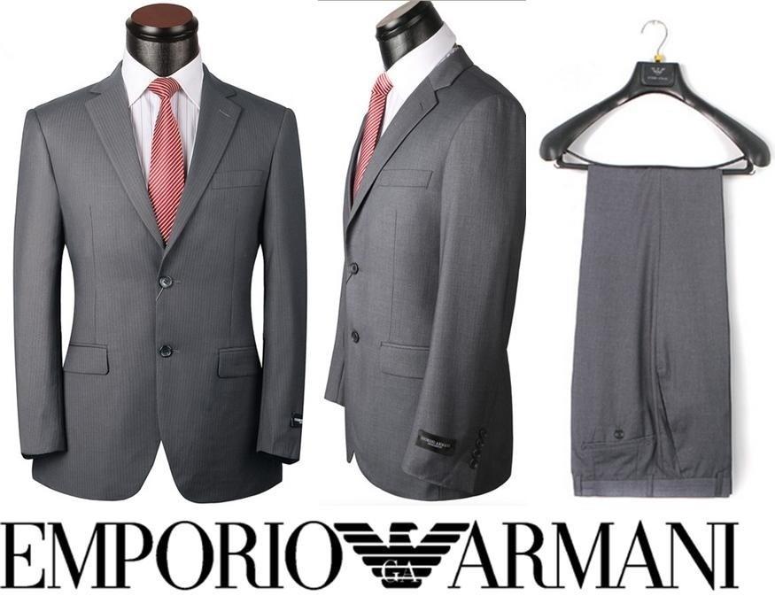 Ternos Slim Armani Hugo Boss E. Zenha Zara E Grifes Lã Fria - R$ 749