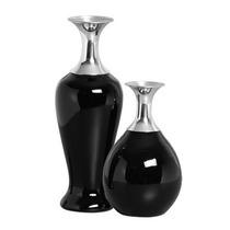 Vasos Decorativos Preto Cód Ov2138