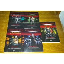 Resident Evil - 5 Volumes - S D Perry Livro Novo