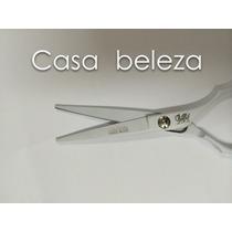 Tesoura Cabeleireiro 5.5 - Fio Navalha + Laser - Obopekal.