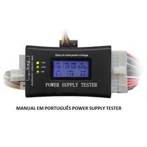 Manual Em Português - Digital Power Supply Tester