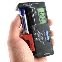 Testador Digital De Pilhas E Baterias 1,5v, 9v E Outras